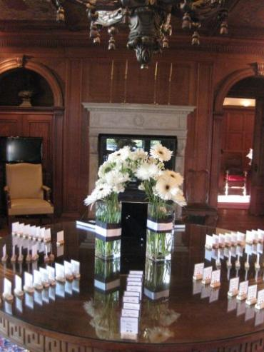 Placecard table at Greystone Hall Wedding
